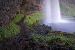 Islândia: Seljalandsfoss fotografia de stock