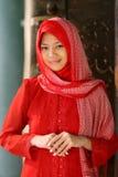 Islão muçulmano da menina Foto de Stock