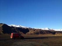 Isländische Autoreise Lizenzfreie Stockbilder