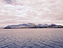 Isländische Berge Stockbilder