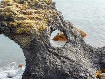Isländische Küste Stockfoto