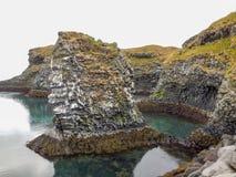 Isländische Küste Lizenzfreies Stockbild