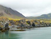 Isländische Küste Lizenzfreies Stockfoto