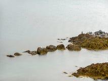Isländische Küste Stockfotos