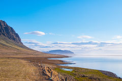 Isländische Küste Stockbilder