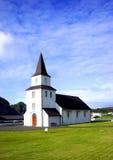 Isländische Kirche Stockbilder