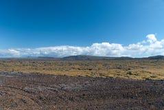 Isländische Landschaft Stockbilder