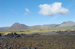Isländische Landschaft Stockbild