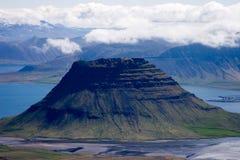 Isländische Landschaft Stockfoto