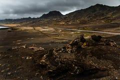 Isländische Landschaften Stockfotos