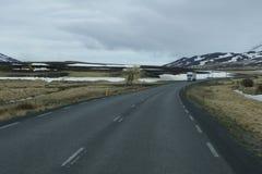 Isländische Natur Stockbild