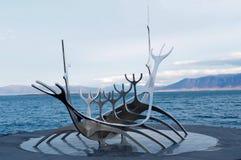 Isländische Statue Wikinger Lizenzfreie Stockbilder