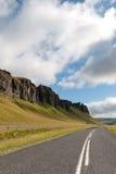 Isländische Straße Stockfoto