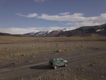 Isländische wilde Landschaftsansicht Island atemberaubend stockfotografie
