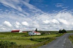 Isländischer Bauernhof Lizenzfreie Stockfotos