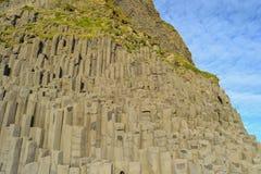 Isländischer Berg unter der Sonne Lizenzfreies Stockfoto
