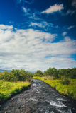 Isländischer Fluss Stockfotos
