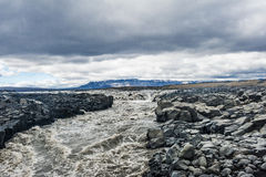 Isländischer Fluss Lizenzfreie Stockfotografie