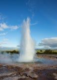Isländischer Geysir Lizenzfreies Stockfoto