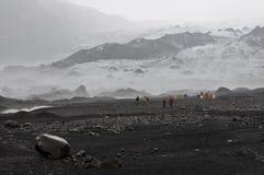 Isländischer Gletscher lizenzfreie stockfotos