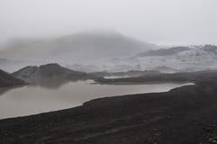 Isländischer Gletscher Lizenzfreies Stockfoto