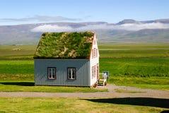 Isländisches Haus Stockfotos