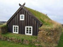 Isländisches Haus Stockbild