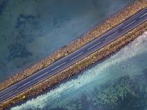 Isländisches Luftbildfotografie gefangen genommen durch Brummen Lizenzfreie Stockfotos