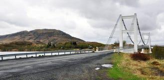 Isländsk bro Royaltyfria Foton