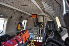 Isländsk coastguardhelikopter TF-LIF Fotografering för Bildbyråer