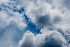 Isländsk himmel 02 Arkivfoto