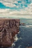 Isländsk kust Royaltyfria Foton