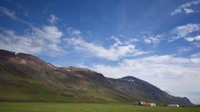Isländsk lantgård Arkivfoton
