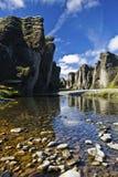 Isländsk natur Fotografering för Bildbyråer