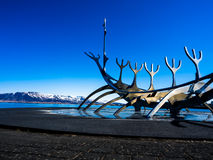 Isländsk skulptur Arkivfoton