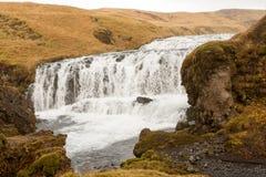 Isländska forsar Royaltyfria Bilder
