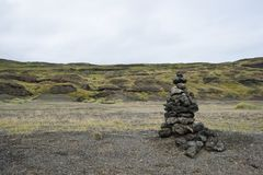 Isländskan landskap Arkivbilder