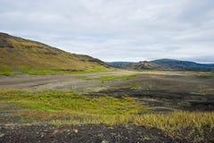 Isländskan landskap Fotografering för Bildbyråer