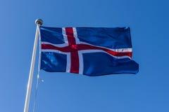 Isländskan sjunker Royaltyfria Foton