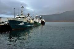 Isländskt fartyg Royaltyfri Bild
