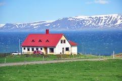 Isländskt landskap Fotografering för Bildbyråer