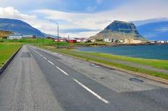 Isländskt landskap Royaltyfria Bilder