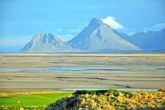 Isländskt landskap royaltyfri bild