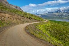 Isländskt landskap av den Snaefellsnes halvön Royaltyfri Foto