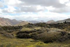 Isländskt sommarlandskap. Royaltyfri Foto