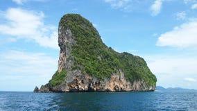 Isla abandonada Foto de archivo libre de regalías