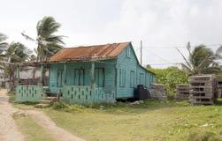 Isla abandonada Nicaragua del maíz de la casa Fotos de archivo libres de regalías