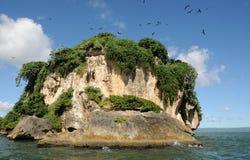 Isla alejada Fotos de archivo