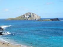 Isla apagado de Oahu Hawaii Imágenes de archivo libres de regalías