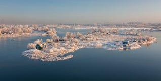Isla asoleada Imagen de archivo libre de regalías